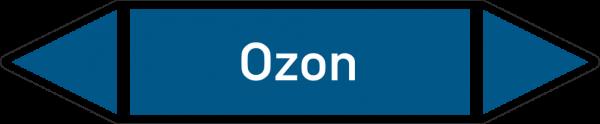 Rohrleitungskennzeichnungen - Ozon