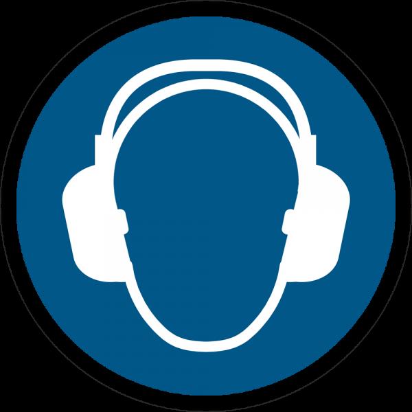 Gehörschutz benutzen ISO 7010-M003