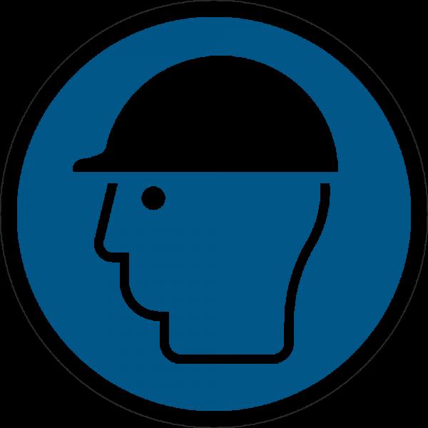 Kopfschutz benutzen ISO 7010-M014