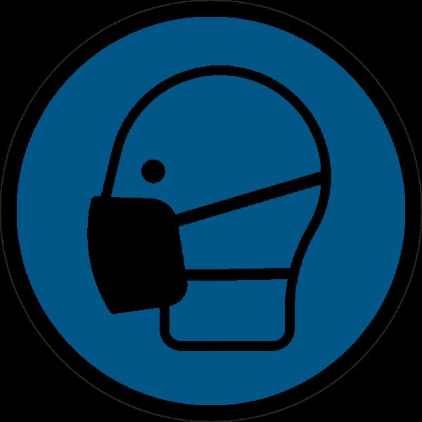 Maske benutzen ISO 7010-M016