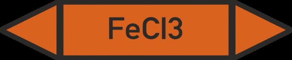 Rohrleitungskennzeichnungen - FeCI3