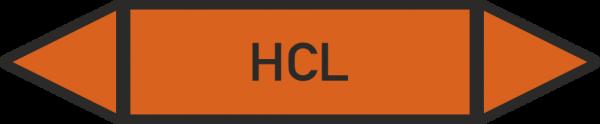Rohrleitungskennzeichnungen - HCL