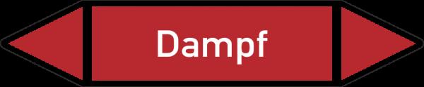 Rohrleitungskennzeichnungen - Dampf
