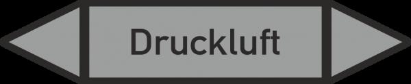 Rohrleitungskennzeichnungen - Druckluft