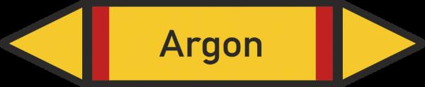Rohrleitungskennzeichnungen - Argon