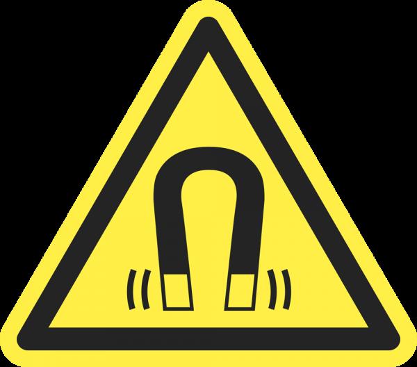 Warnung vor magnetischem Feld ISO 7010-W006