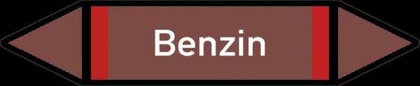 Rohrleitungskennzeichnungen - Benzin