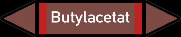 Rohrleitungskennzeichnungen - Butylacetat