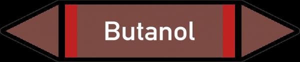 Rohrleitungskennzeichnungen - Butanol