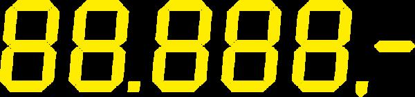 Preisauszeichnung LCD, 1140 x 240mm