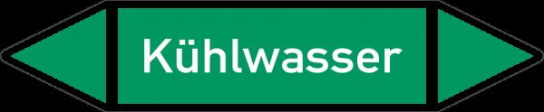 Rohrleitungskennzeichnungen - Kühlwasser