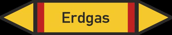 Rohrleitungskennzeichnungen - Erdgas