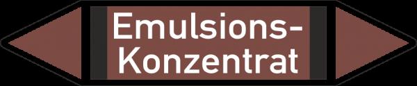 Rohrleitungskennzeichnungen - Emulsions-Konzentrat