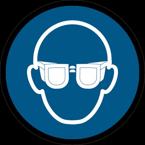 Augenschutz benutzen ISO 7010-M004
