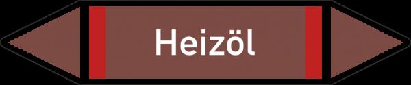 Rohrleitungskennzeichnungen - Heizöl