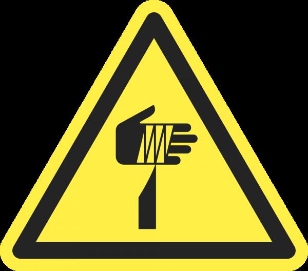 Warnung vor spitzem Gegenstand ISO 7010-W022