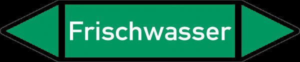 Rohrleitungskennzeichnungen - Frischwasser