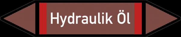 Rohrleitungskennzeichnungen - Hydraulik ÖL