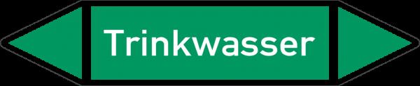 Rohrleitungskennzeichnungen - Trinkwasser