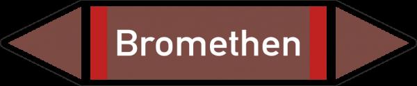 Rohrleitungskennzeichnungen - Bromethen