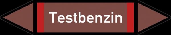 Rohrleitungskennzeichnungen - Testbenzin