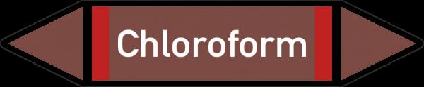 Rohrleitungskennzeichnungen - Chloroform