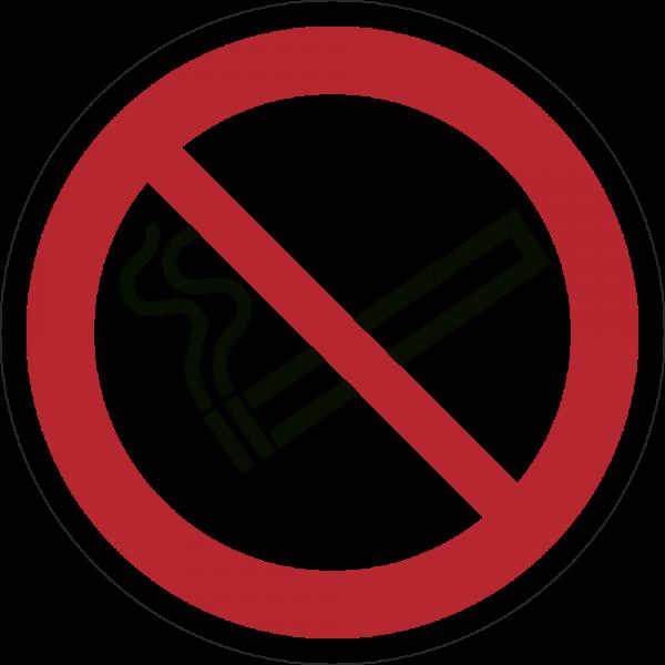 Rauchen verboten ISO 7010-P002