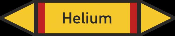 Rohrleitungskennzeichnungen - Helium