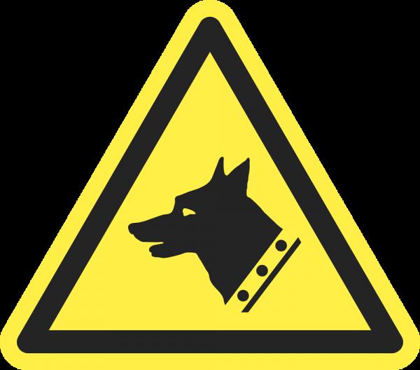 Warnung vor Wachhund ISO 7010-W013