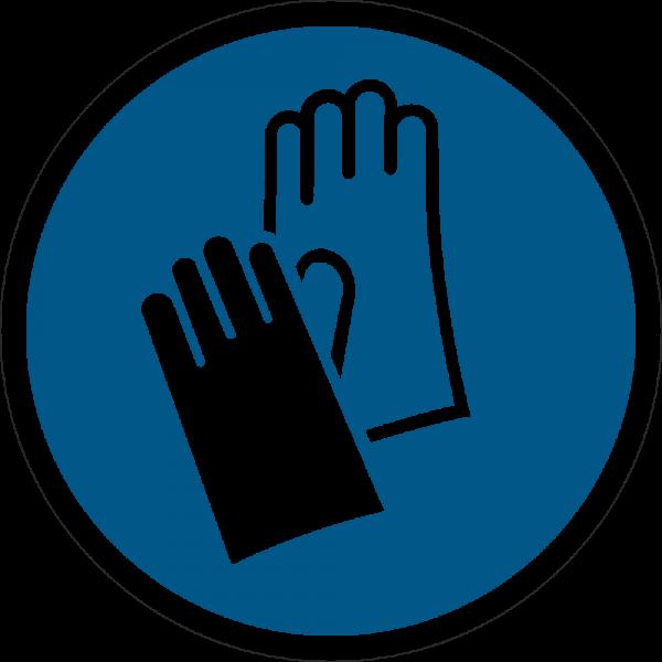 Handschutz benutzen ISO 7010-M009