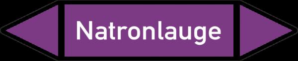 Rohrleitungskennzeichnungen - Natronlauge