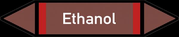 Rohrleitungskennzeichnungen - Ethanol
