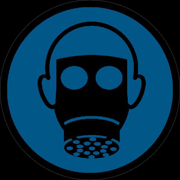 Atemschutz benutzen ISO 7010-M017