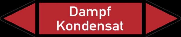 Rohrleitungskennzeichnungen - Dampf Kondensat