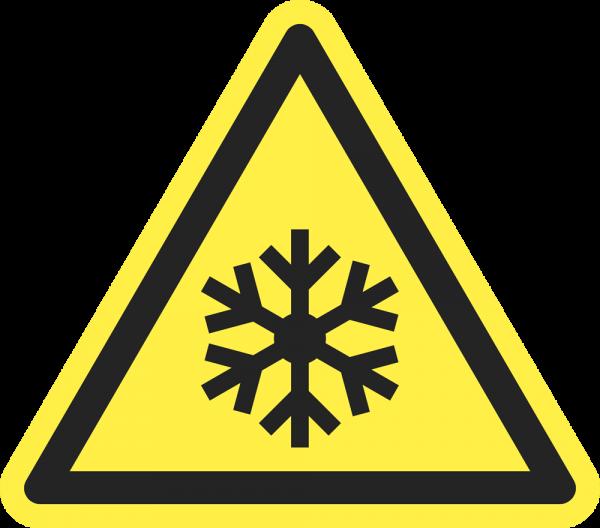 Warnung vor niedriger Temperatur / Frost ISO 7010-W010