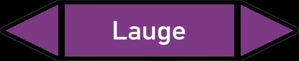 Rohrleitungskennzeichnungen - Laugen