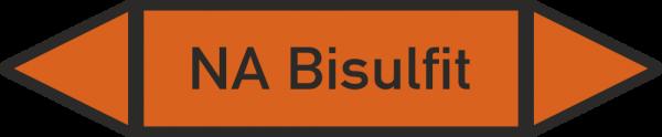 Rohrleitungskennzeichnungen - NA Bisulfit