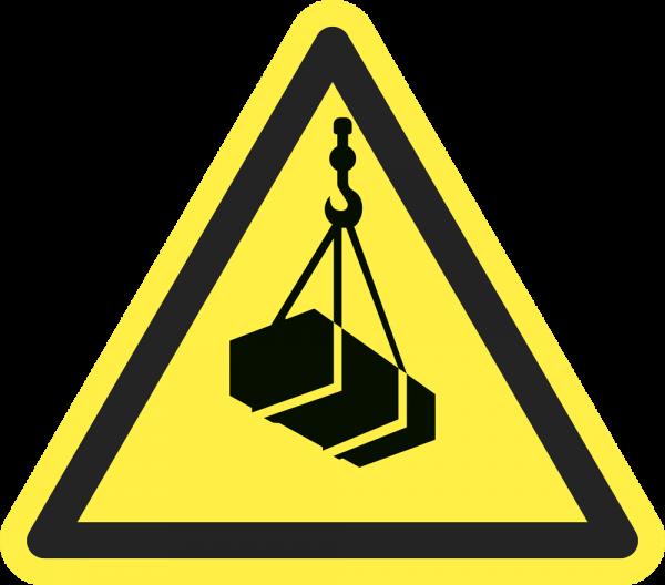 Warnung vor schwebender Last ISO 7010-W10015