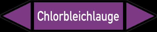 Rohrleitungskennzeichnungen - Chlorbleichlauge