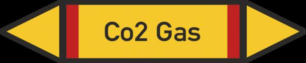 Rohrleitungskennzeichnungen - Co2 Gas